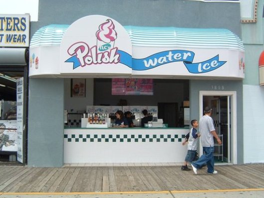 polish water ice