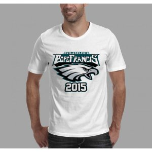 pope eagles t shirt
