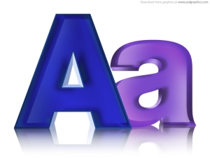 capital letter - small letter