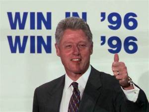 While Bill Clinton's presidency is frequently remembered as a great success, the majority of daily newspapers endorsed his opponent, Bob Dole, when Clinton ran for re-election in 1996.