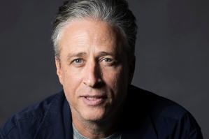 "Jon Stewart poses for a portrait in promotion of his forthcoming directorial and screenwriting feature debut ""Rosewater"" on Friday, Nov. 7, 2014 in New York. (Photo by Victoria Will/Invision/AP)"