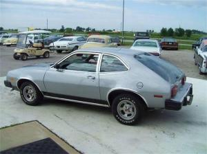 The Curmudgeon's first car. Yes, it was a 1980 Ford Pinto. And yes, he sees you smirking.