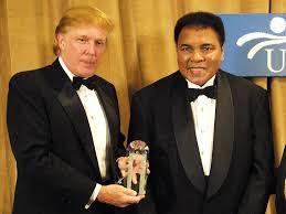 Ali passes the torch
