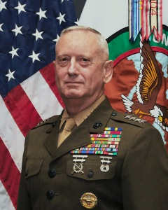Know-nothing general one day, Secretary of Defense the next.