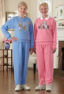 They think they look good in their sweatsuits. They think wrong.